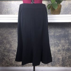 EUC Allison Taylor black skirt